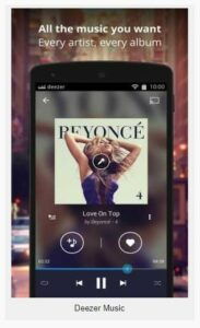 Deezer Music 6.1.16.108 Apk for android