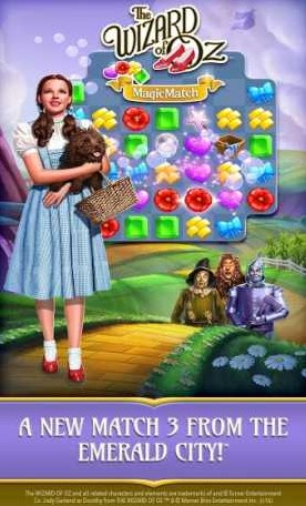 The Wizard of Oz Magic Match 3 1.0.4309 Apk + Mod (Lives/Boosters)