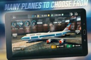 Flight Sim 2018 1.2.12 Apk + Mod Money + Data for android